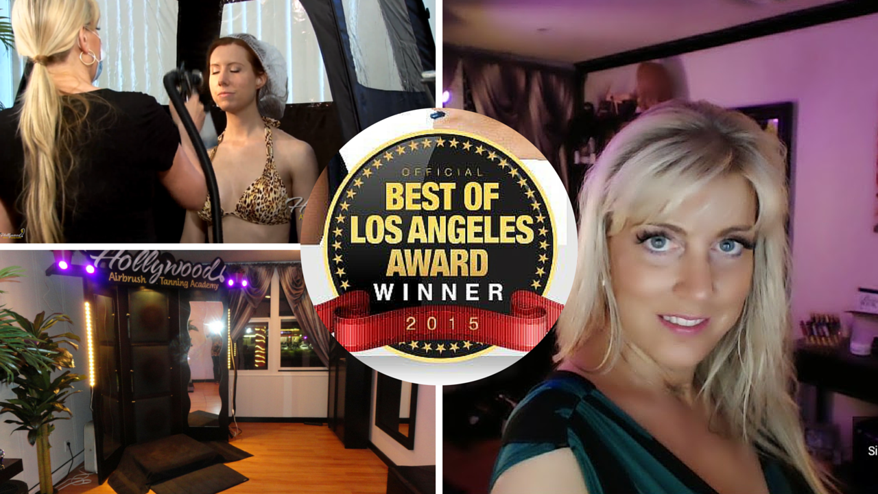 Best Airbrush Tanning in Los Angeles Award