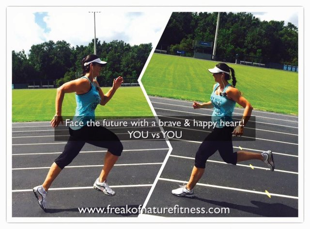 Freak of nature fitness, Tosha Firestone, Inspiration, christian athlete, Isaiah 40:31, Gym motivation, Track workout, Face the future with a brave & happy heart