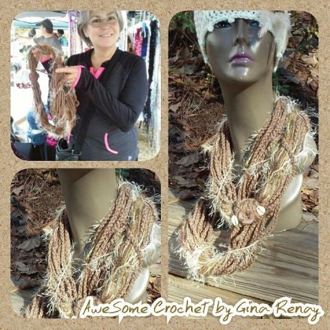 : infinity chain scarf