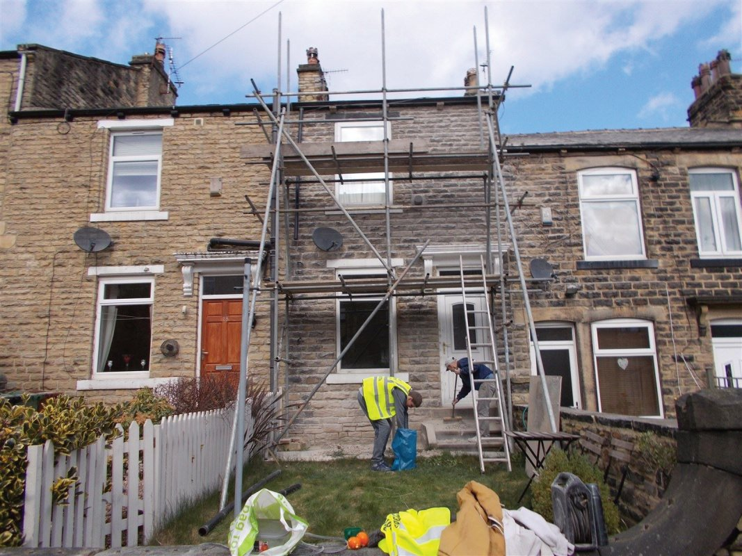 repointing stone farsley all work carried out by leeds pointing