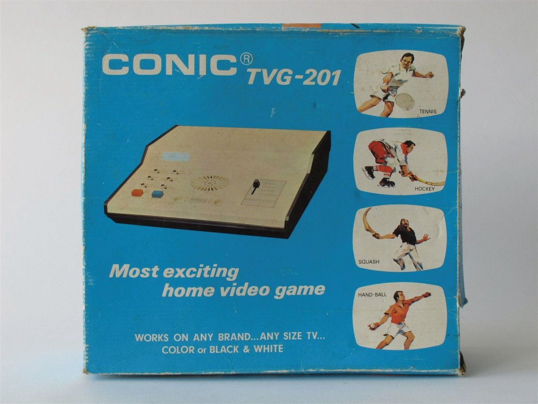 Conic TV Game, boxed