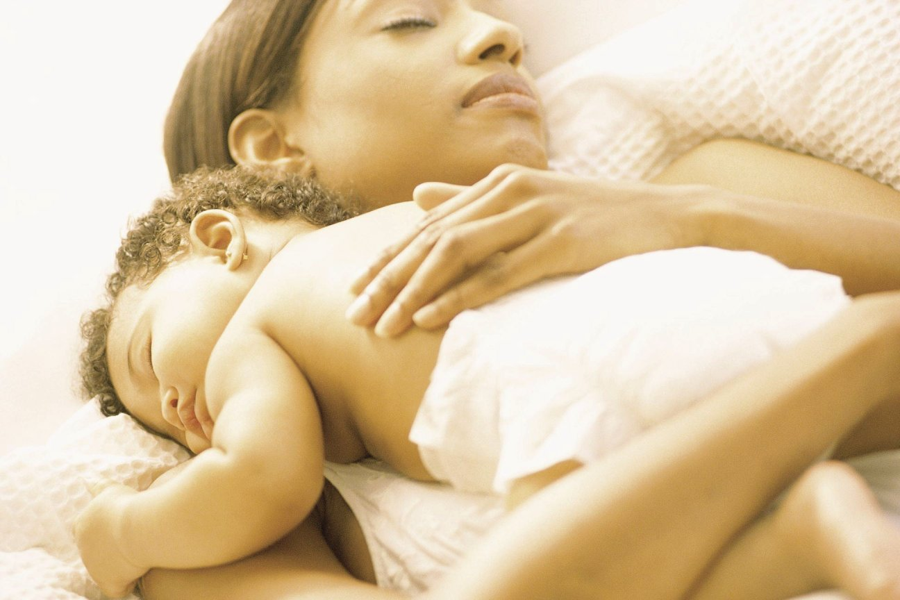 Instead of CIO, sleep with your baby - yes, that can be an option!