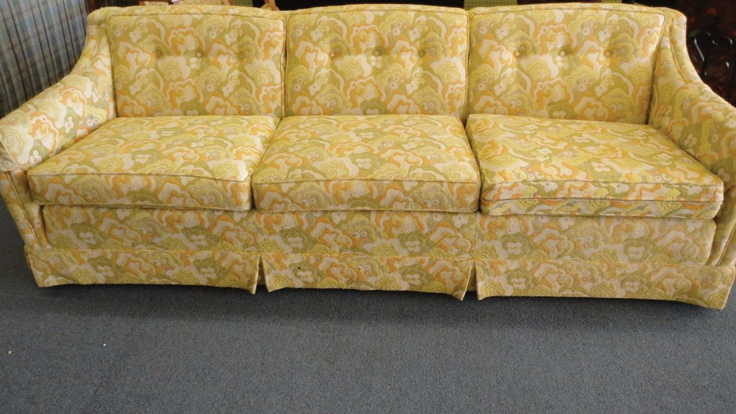 Mod Fabric sixties sofa