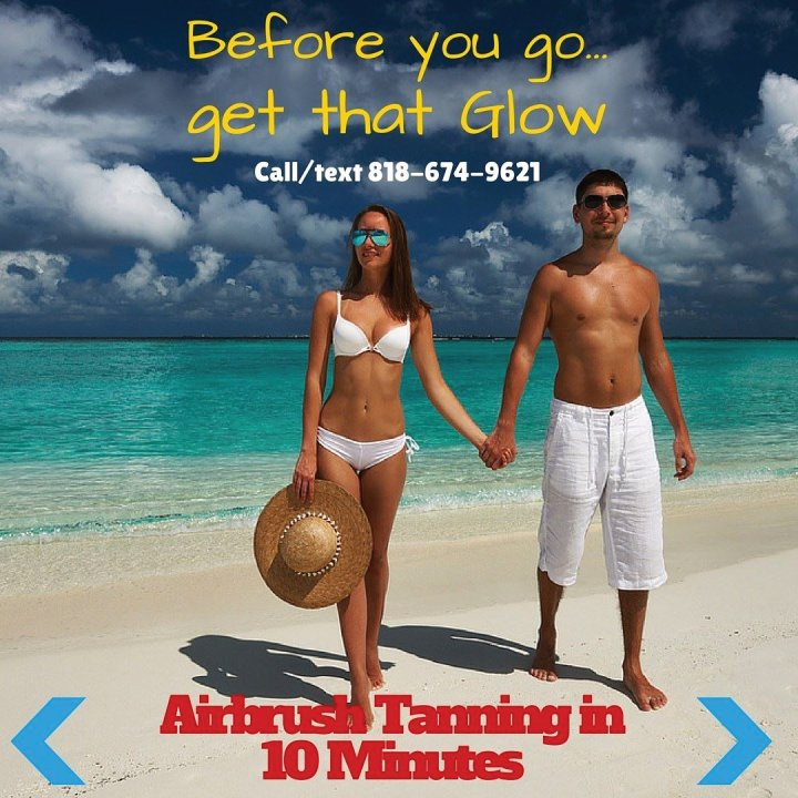 10 Minute Spray Tans in Studio City and Sherman Oaks