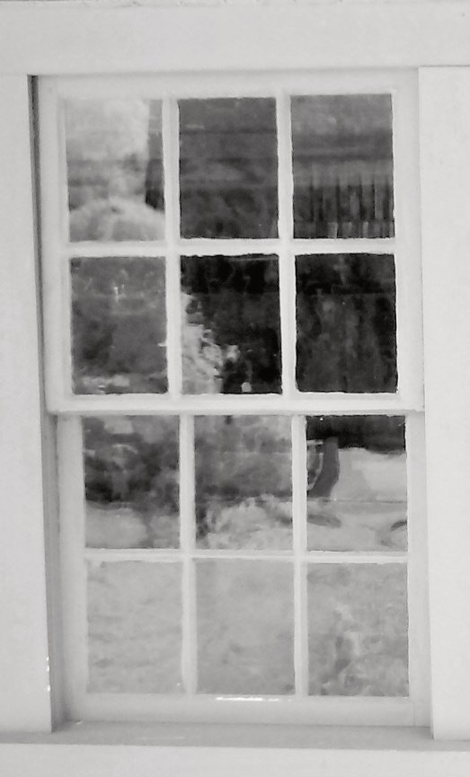 Enlargement: Left Kitchen Window (Deep Infrared)