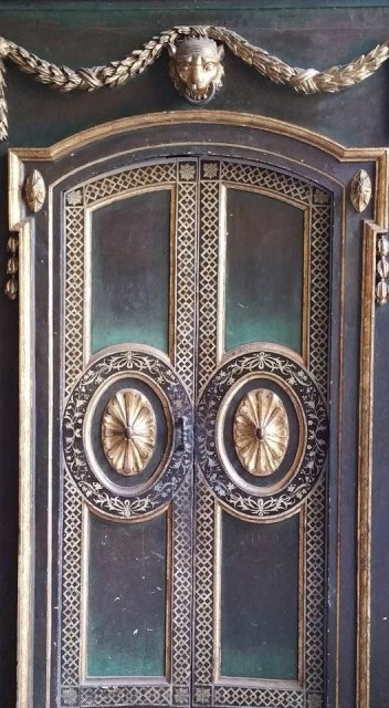 Door at Cathedral of Lima, Peru