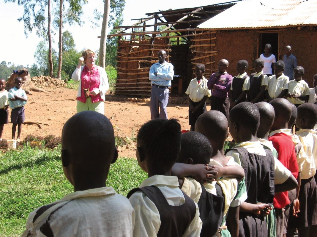 Orphan school in Oyugis, Kenya
